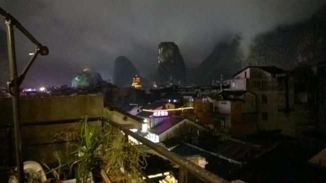 Berge von Yangshuo
