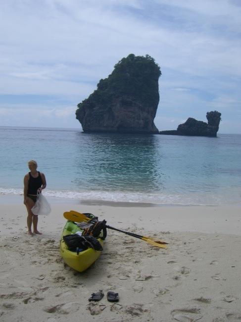 Kajaktour auf Ko Phi Phi