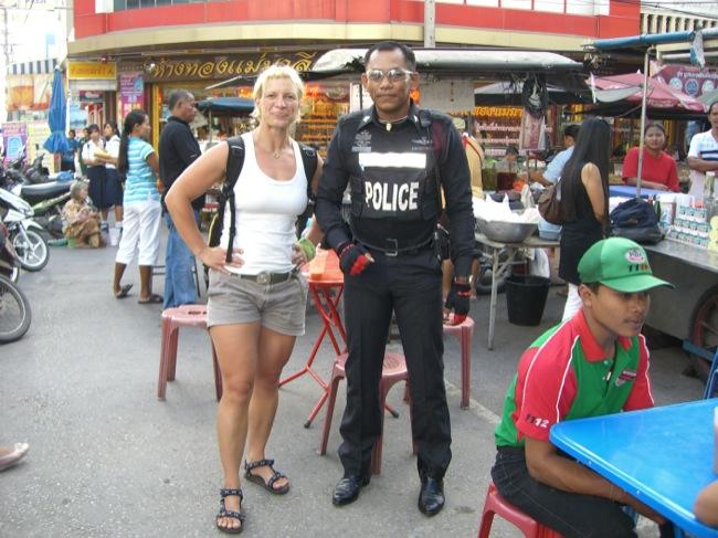 coole Polizei