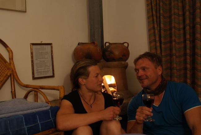 Romantischer Abend in Copa