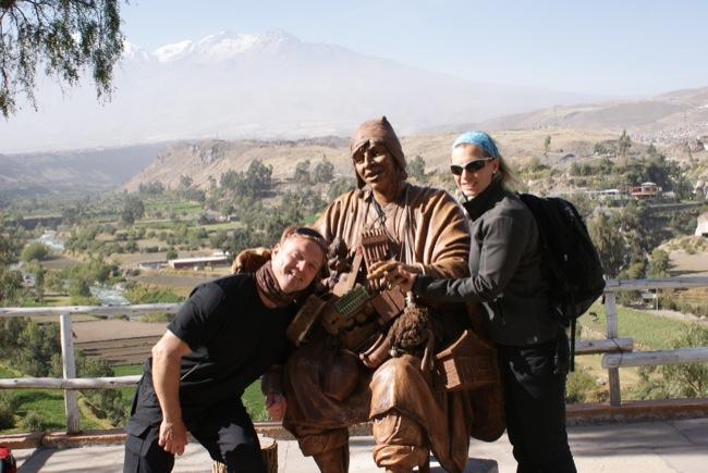 Inka König als Glücksbringer