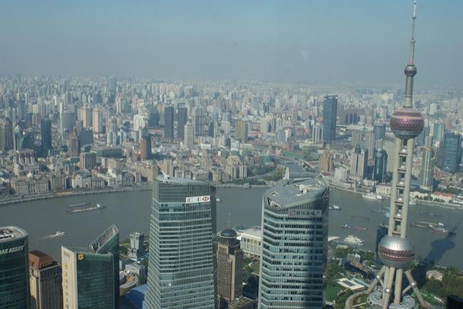 Blick vom Jin Mao Tower